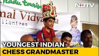 India's Youngest Chess Grandmaster Seeks Government Help To Become World Champion - NDTV