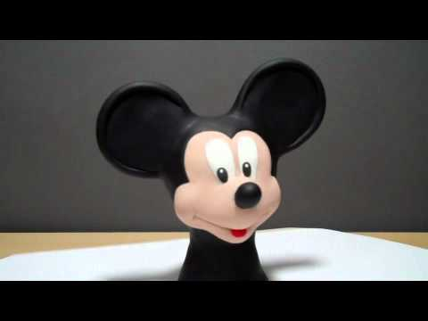 Mickey Mouse, sculpture!!