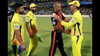 IPL 2018 Final, Preview: CSK, SRH face off in high-octane battle - INDIATV