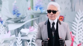 Karl Lagerfeld's Interview - Spring-Summer 2015 Haute Couture CHANEL show - CHANEL