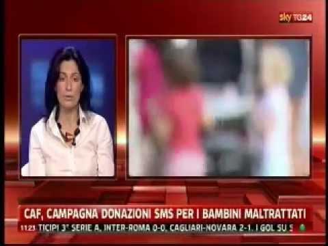 Skytg24_CAF, campagna donazioni SMS per i bambini maltrattati