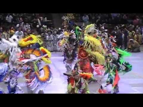 Lone Bear - Men's Fancy - Contest Song - Gathering of Nations Powwow 2013