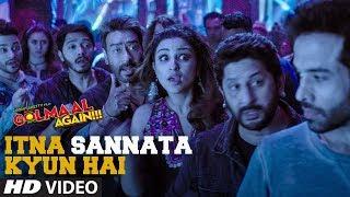 Itna Sannata Kyun Hai Video Song | Golmaal Again | Amit Mishra, Aditi Singh Sharma - TSERIES