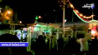 بالفيديو والصور.. آلاف المواطنين يحتفلون بالليلة الختامية لمولد سيدي عبد الرحيم القنائى