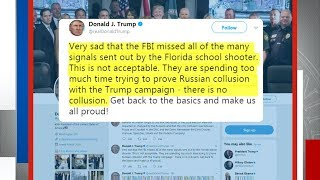 Trump says FBI missed signals from Florida shooter due to Russia probe - ABCNEWS