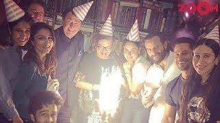 Kareena Kapoor Khan's Birthday Party | Saif Ali Khan, Soha Ali Khan, Karisma Kapoor & More - ZOOMDEKHO