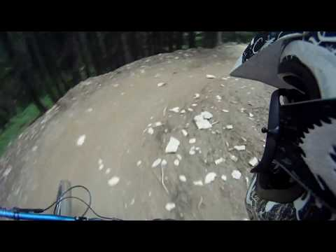 Morzine 2011 Chatel Serpentine Downhill Mountain Bike Extreme