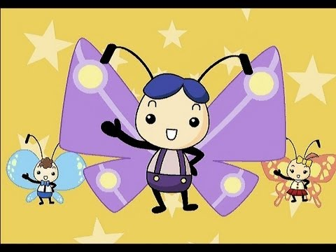 Fly, Fly, Butterfly   | nursery rhymes & children songs with lyrics | muffin songs