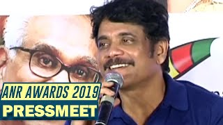 Akkineni Nagarjuna Press Meet About ANR National Award 2018-2019 - TFPC