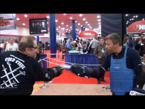 Cold Steel's Lynn Thompson: On Knife Fighting part2