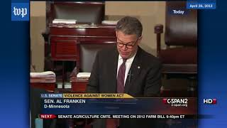 Here's what Sen. Al Franken has said about sexual violence - WASHINGTONPOST