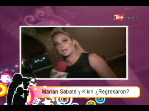 Marian Sabaté y Kikin ¿Regresaron?
