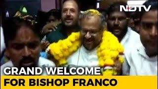 Rose Petals, Garland: Grand Welcome For Rape-Accused Bishop In Jalandhar - NDTV