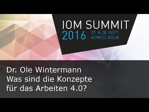 #ioms16 Ole WIntermann - Was sind die Konzepte für das Arbeiten 4.0?