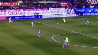 بالفيديو.. مدافع برشلونة يركض 100 متر خلال 11 ثانية