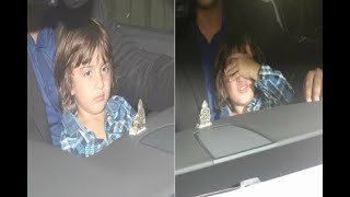 In Graphics: Dhirubhai ambani school annual function: Abram khan's latest cute picture - ABPNEWSTV
