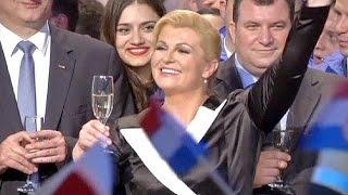 فوز مرشحة المعارضة في كرواتيا برئاسة الجمهورية