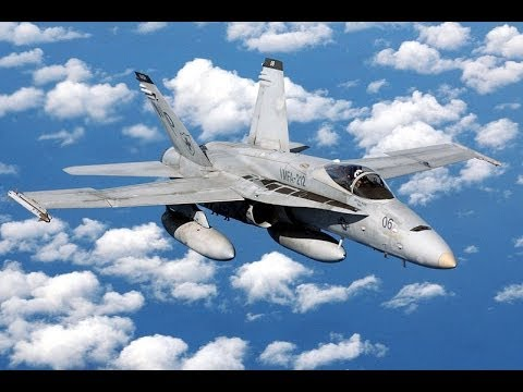 Boeing F/A-18 Hornet Anatomy of the FA-18 Hornet Fighter Attack Airplane
