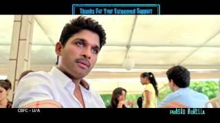 Son of Satyamurthy Sentiment Trailer | Allu Arjun, Samantha, Nithya Menon, Adah Sharma, - TFPC