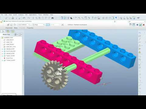 Pro-E Assembly Tutorial 5 (TCNJ)