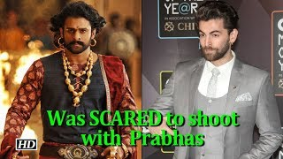 Neil was SCARED to shoot with 'Baahubali' Prabhas - IANSLIVE