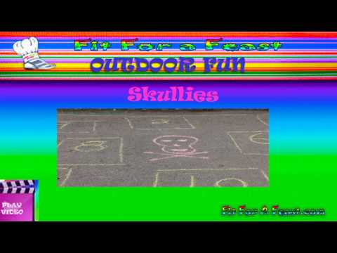 Kids Outdoor Games - Skullies -Play Outdoor Games