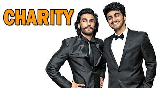 Arjun Kapoor and Ranveer Singh to team up for Charity! | Bollywood News