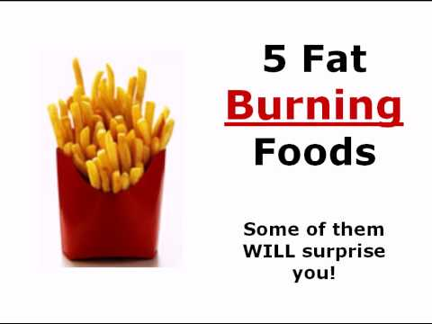 What foods help burn fat quicker
