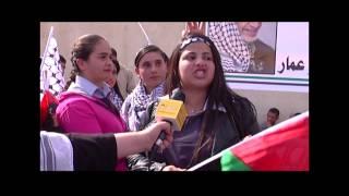 الاشبال والزهرات في ذكرى استشهاد أبو عمار في رام الله