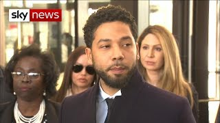 Breaking News: Charges dropped against Empire actor Jussie Smollett - SKYNEWS