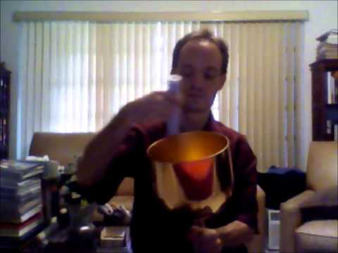 Gold Fusion Quartz Crystal Singing Bowl - Sound Healing Demonstration