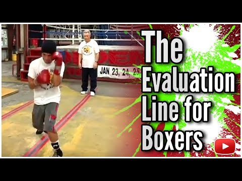 Become A Better Boxer - The Evaluation Line featuring Kenny Weldon