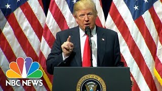 President Trump To FBI Academy Grads: I'm A 'True Friend And Loyal Champion' To Police | NBC News - NBCNEWS