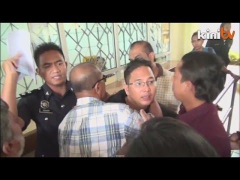 Kecoh di mahkamah: Aktivis  ditangkap selepas dibebaskan