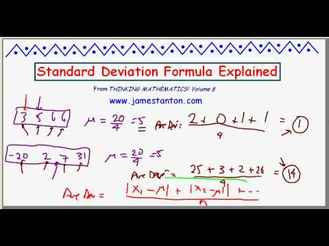 Standard Deviation Formula Explained! (TANTON Mathematics)