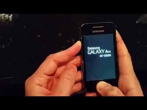 Reset Samsung Galaxy Ace s5830i/5839i (Hard Reset) - valavideo.com