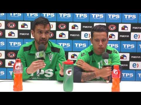 Conferencia de prensa Felipe Núñez y Matías Fernández 30/11/2017