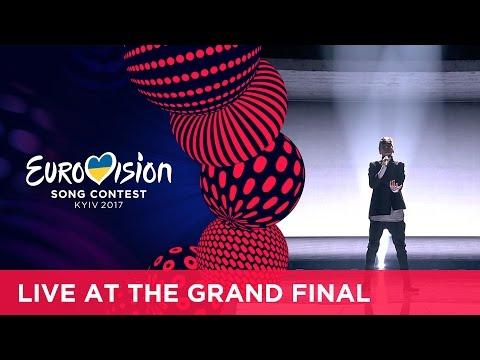 Kristian Kostov  na tegorocznym finale Eurowizji.