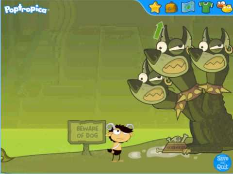 Poptropica Mythology Walk Through Part 4