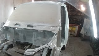 Покраска кабины GT газели. часть 2 СВАП