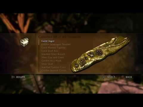 Uncharted Drake's fortune - Treasure locations
