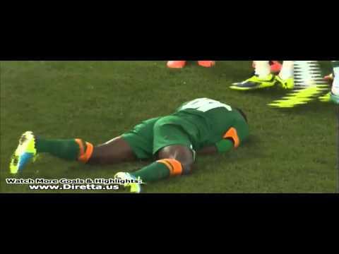 Neymar kick to the nuts vs. Zambia