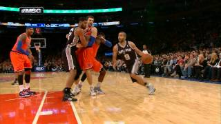 Tony Parker's Filthy Crossover On Iman Shumpert