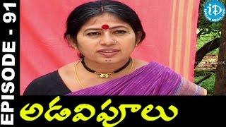 Adavipoolu || Episode 91 || Telugu Daily Serial - IDREAMMOVIES