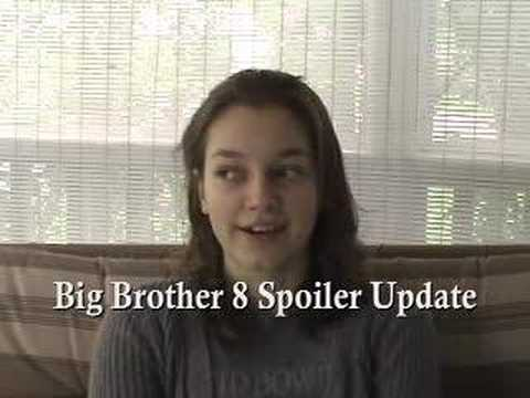 Big Brother 8 Spoiler Update August 22nd, 2007