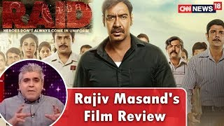 Rajeev Masand's Review of the Movie 'Raid' | Ajay Devgan Latest Movie Review | CNN News18 - IBNLIVE