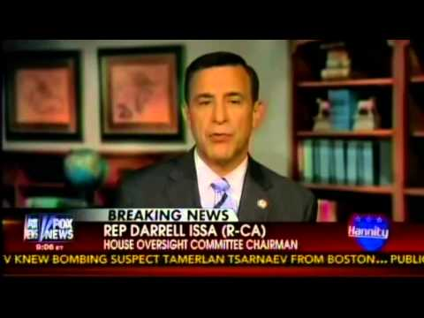 Issa Breaks Down Oversight's IRS Hearing on Sean Hannity Show
