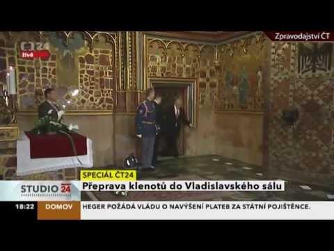 Czeski prezydent cierpiący na chorobę filipińską?