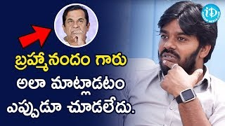 Sudigali Sudheer About Brahmanandam Speech | 3 Monkeys Movie Team Interview | iDream Telugu Movies - IDREAMMOVIES