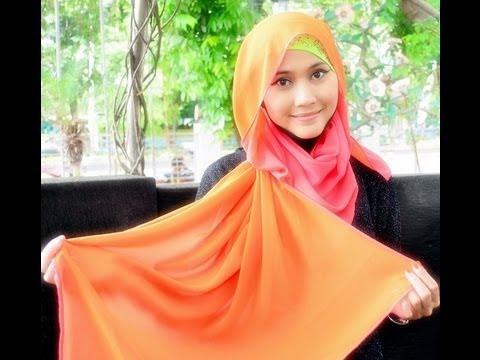 Pashmina Hijab Style Tutorial by Didowardah - Part 9#